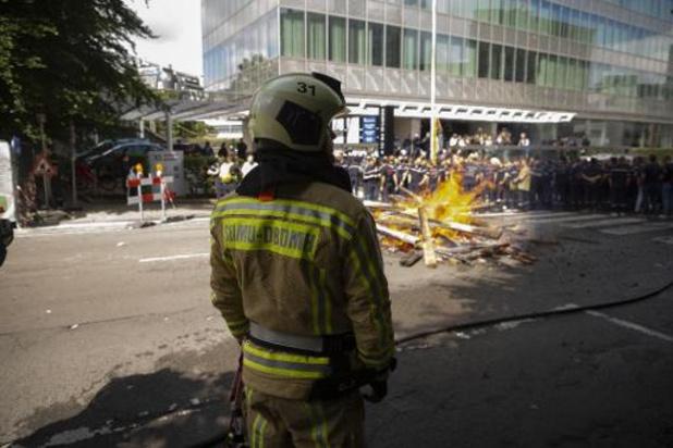 Intern onderzoek naar racistische incidenten bij Brusselse brandweer