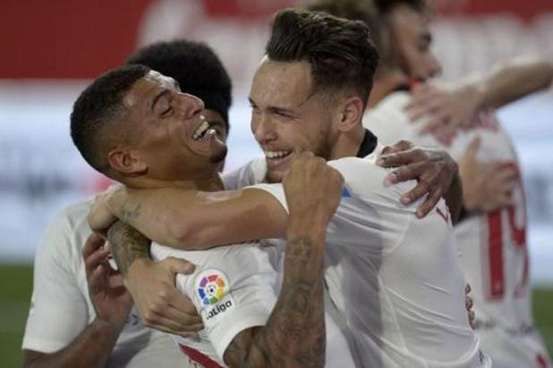 La Liga - Sevilla heropent Spaanse competitie met 2-0 zege in stadsduel tegen Betis