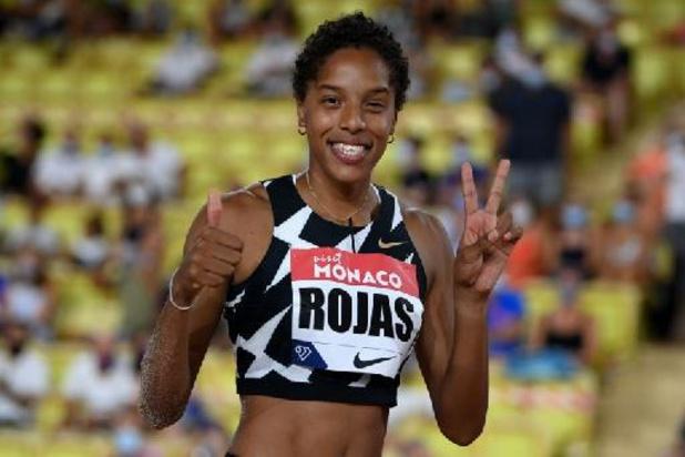 Triple saut: 2e performance de tous les temps pour Rojas