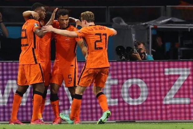 EK 2020 - Nederland gaat na nieuwe zege probleemloos door naar tweede ronde
