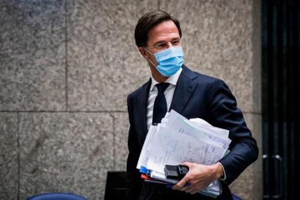 """Coronavirus - """"Nadruk lag te veel op eigen verantwoordelijkheid"""", geeft Nederlandse premier toe"""