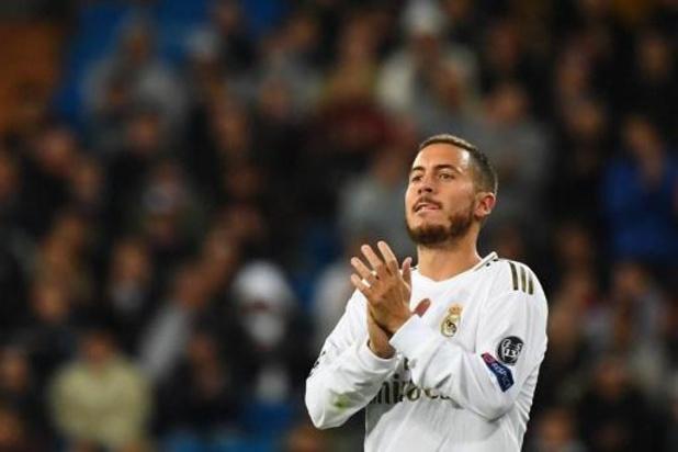 Eden Hazard is gelukkig met stijgende vormpeil bij Real