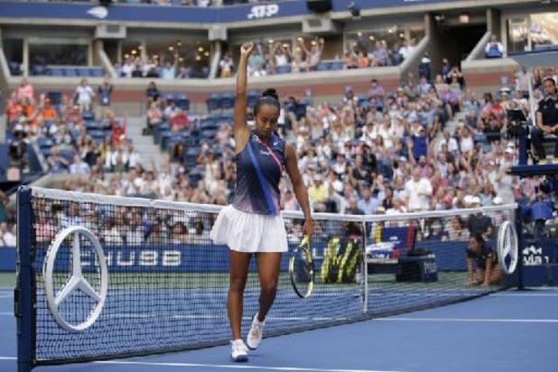 US Open - Leylah Fernandez poursuit son aventure et file en demi-finale aux dépens d'Elina Svitolina