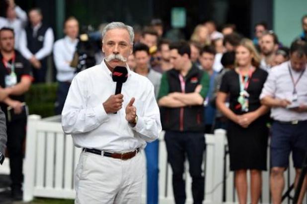 Le patron de la Formule 1 prévoit le début de la saison en Autriche du 3 au 5 juillet