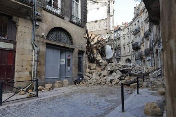 France: deux immeubles s'effondrent à Bordeaux, trois blessés dont un grave