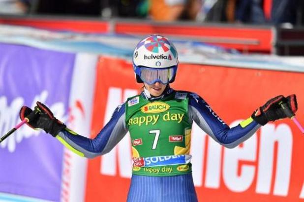 WB alpijnse ski - Italiaanse Marta Bassino heeft eerste wereldbekersucces beet