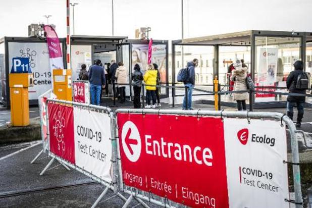Opstartproblemen met massaal testen op Brussels Airport achter de rug