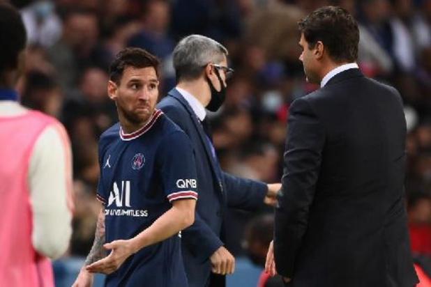 Coach Paris Saint-Germain verdedigt wissel van boze Messi