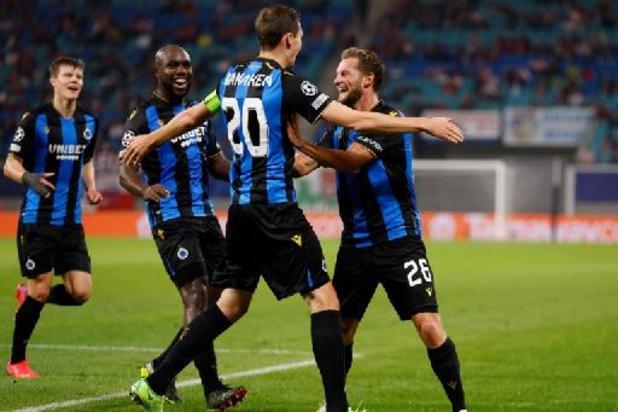 Champions League - Club Brugge stunt opnieuw in Champions League met 1-2 zege in Leipzig