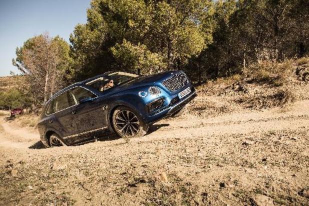 Bentley Bentayga blijkt commercieel succes