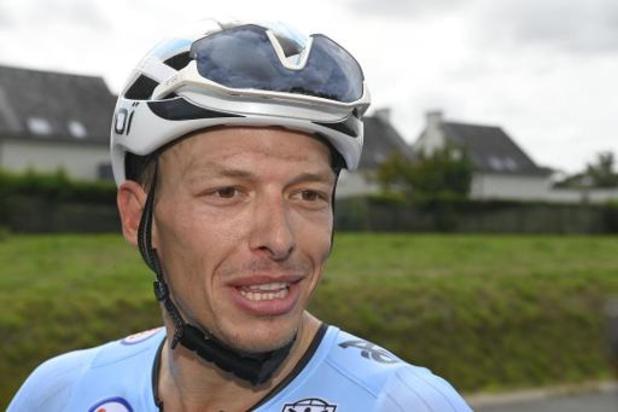 Oliver Naesen zal in Tour meer zijn eigen kans kunnen gaan