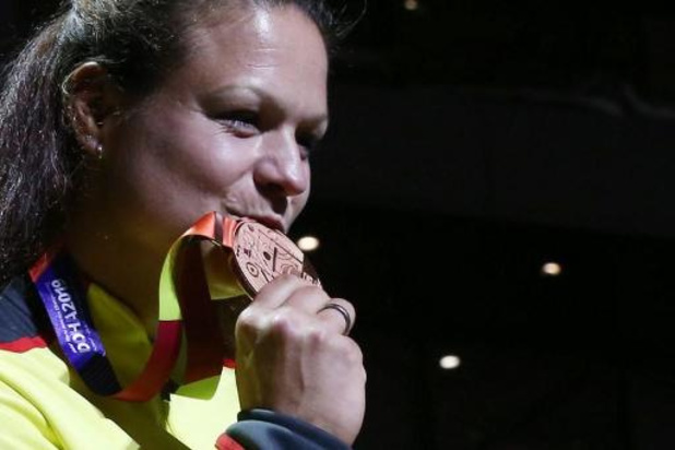 Ex-championne du monde du poids, Christina Schwanitz soignée à une substance radioactive