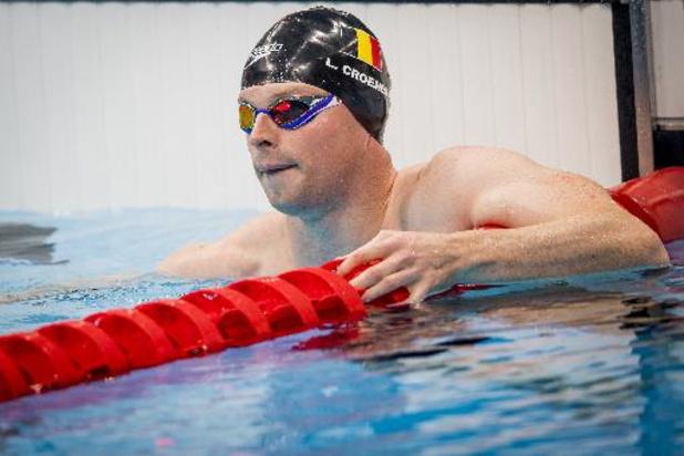 Louis Croenen cinquième du 100m papillon à Berlin
