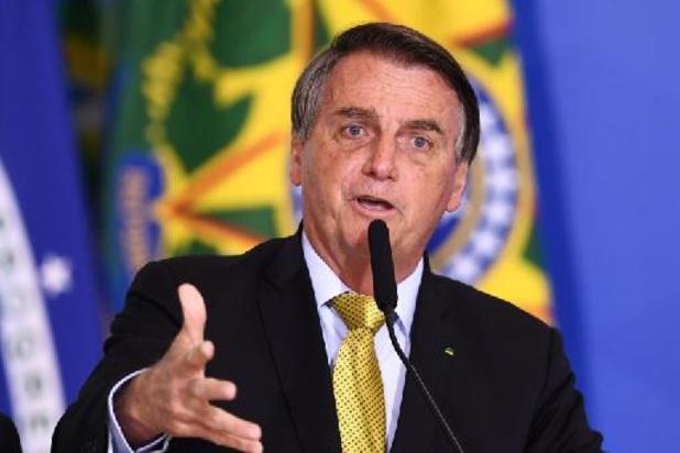 Brésil: 54% favorables à la destitution de Bolsonaro