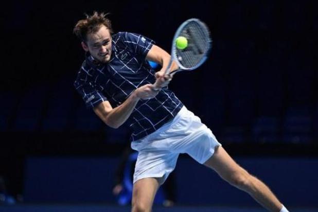 ATP Finals - Medvedev se joue à nouveau de Zverev