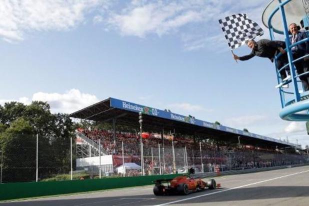 F1 - Le Grand Prix d'Italie à Monza prolongé jusqu'en 2025