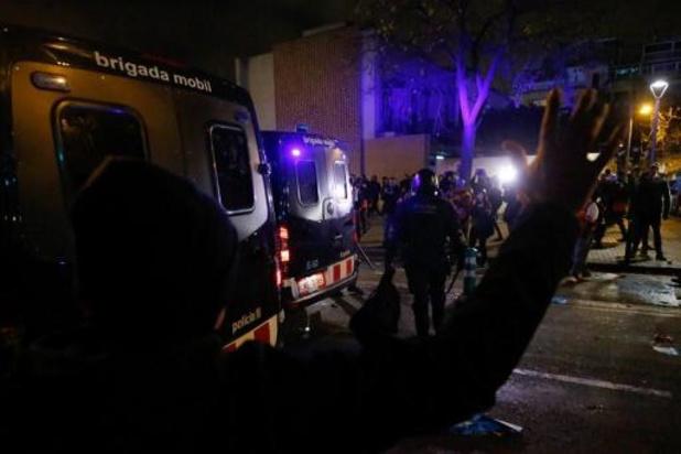 La Liga - Twaalf gewonden bij politieoptreden tegen separatisten