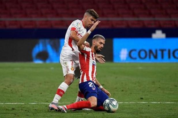 Belgen in het buitenland - Atlético Madrid boekt eenvoudige zege tegen Mallorca