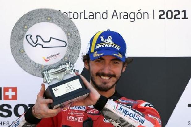 WK snelheid - GP van Aragon: Bagnaia triomfeert,
