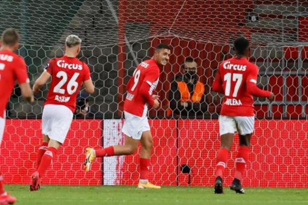 Le Standard avec Benfica, les Rangers et Lech Poznan, l'Antwerp hérite de Tottenham