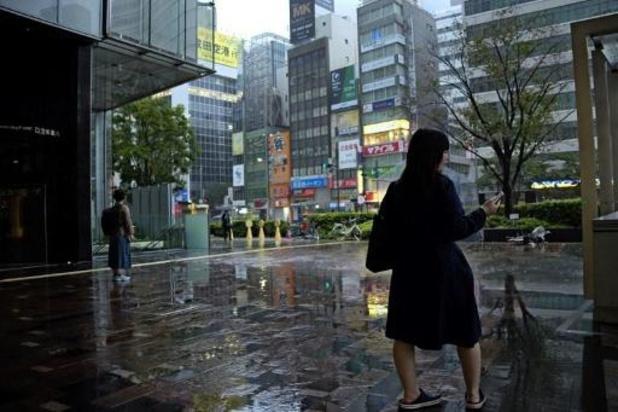 Tyfoon Hagibis gaat zaterdag rond de middag aan land in Japan