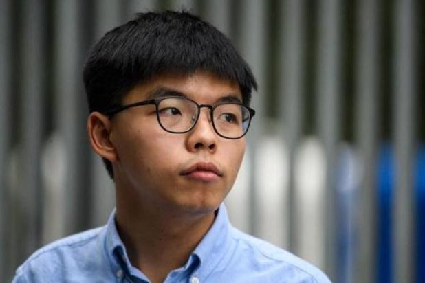 Pékin salue l'invalidation de la candidature de Joshua Wong