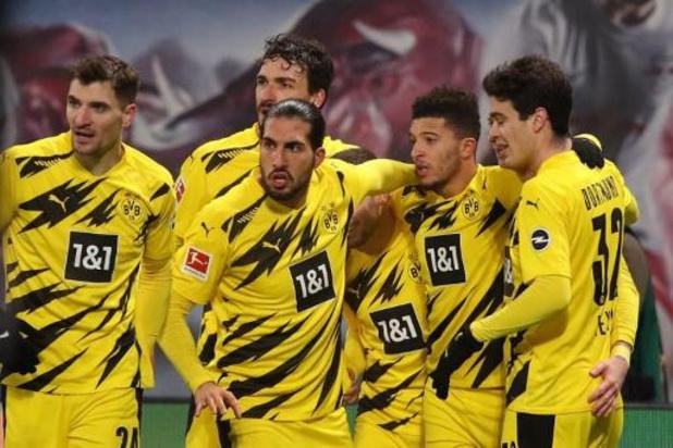 Belgen in het buitenland - Dortmund klopt Leipzig in topper, Witsel valt uit
