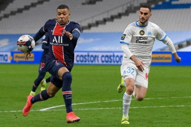 """Ligue 1 - Le PSG remporte le """"Classique"""" à Marseille"""