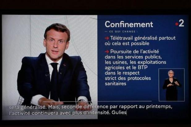 L'allocution d'Emmanuel Macron regardée par 32,7 millions de téléspectateurs