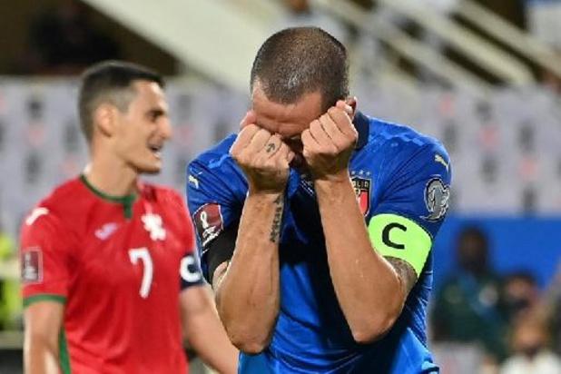 Qualifications Mondial 2022 - L'Italie trébuche à domicile contre la Bulgarie, la Suède revient pour battre l'Espagne