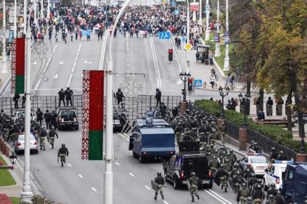 Wit-Russen weer massaal de straat op tegen Loekasjenko