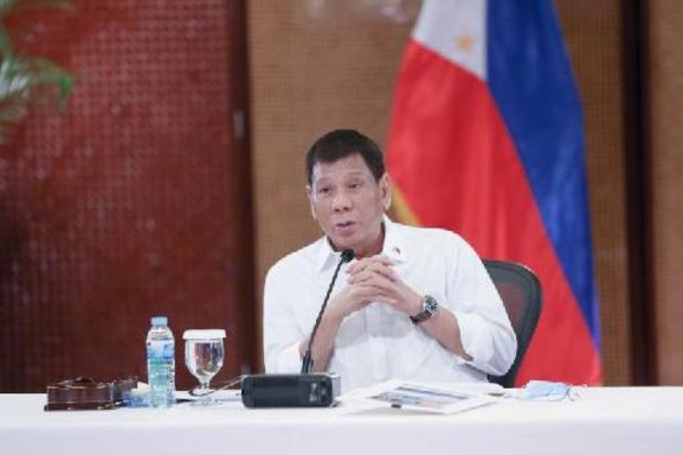 Filipijnse president Duterte stapt aan eind van ambtstermijn uit politiek