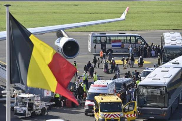 Nog eens 272 geëvacueerde personen aangekomen in Melsbroek