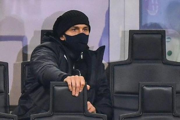 Serie A: Ibrahimovic klaar voor rentree bij Milan