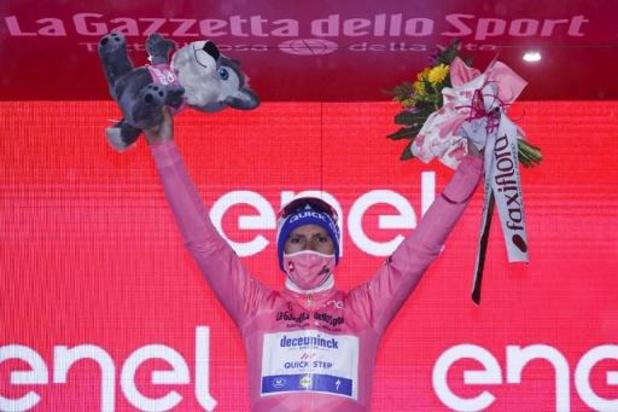 """Tour d'Italie - Joao Almeida en rose pour la journée de repos: """"Elle fera du bien au niveau mental"""""""