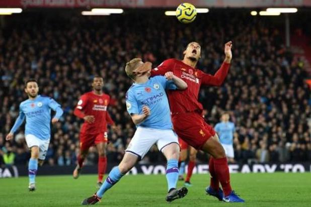 Les Belges à l'étranger - Liverpool surclasse City et prend le large en tête du championnat