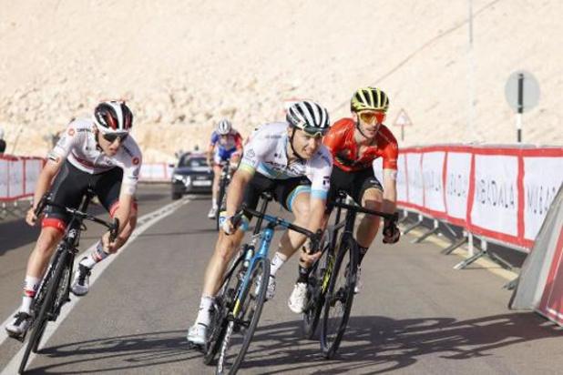 UAE Tour - Wielerronde gestaakt wegens coronavirus, twee Italiaanse renners besmet