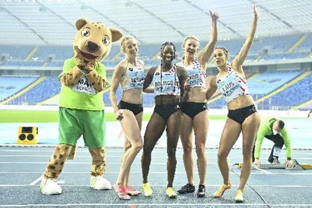 Relais Mondiaux - Les Belgian Cheetahs septièmes en finale du 4x400m
