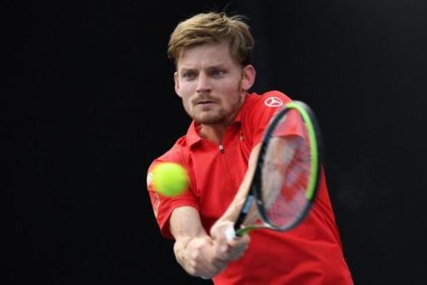 David Goffin qualifié dans la douleur et en cinq sets pour le 3e tour à Melbourne