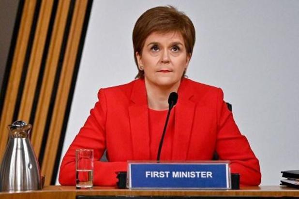 """Schotse premier Nicola Sturgeon ontkent dat ze voorganger """"te grazen wilde nemen"""""""