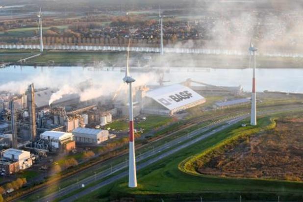BASF maakt kruis over nieuwe Antwerpse gascentrale