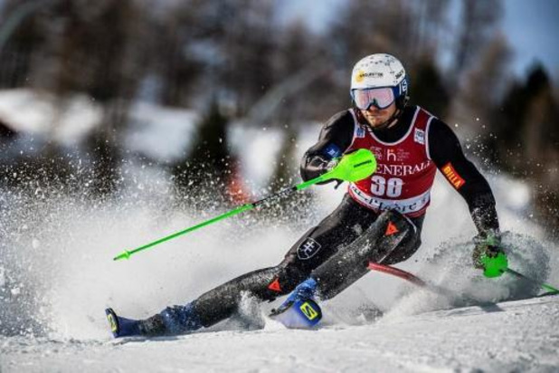 Armand Marchant wordt 20e in eerste run slalom Zagreb