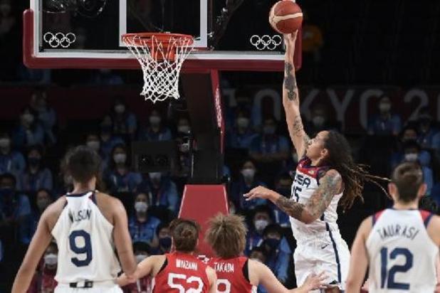 OS 2020 - Amerikaanse basketvrouwen veroveren nieuw goud na vlotte zege tegen Japan