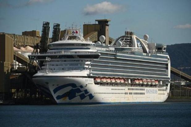 "46 bemanningsleden van cruiseschip ""Ruby Princess"" testen positief op coronavirus"