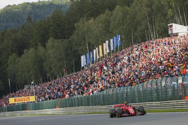 La Wallonie réalimente de 5,9 millions la provision accordée au GP de Spa Francorchamps