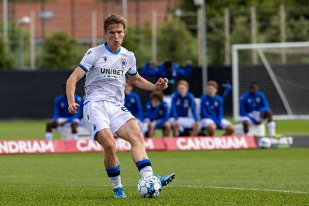 Youth League - Les jeunes du Club de Bruges arrachent un point contre le PSG