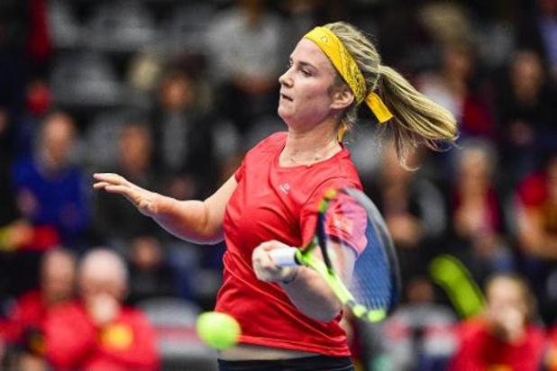 Bonaventure haalt bij haar debuut de tweede ronde