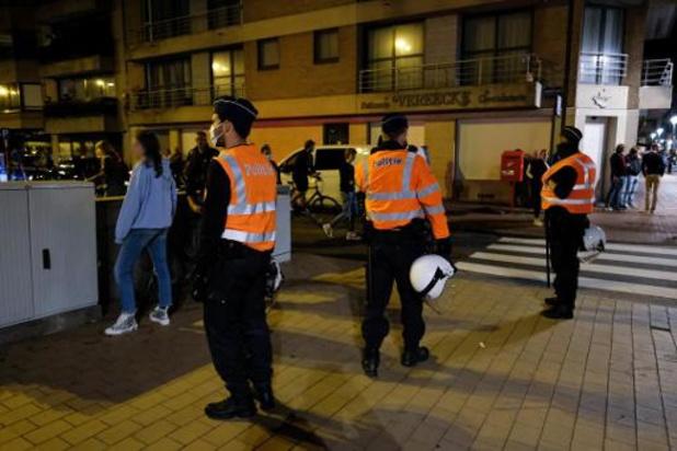 Politie krijgt steun van Nederlandse collega's bij start zomervakantie in Knokke-Heist