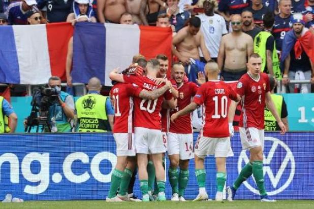 La France accrochée par la Hongrie (1-1) dans la fournaise de Budapest