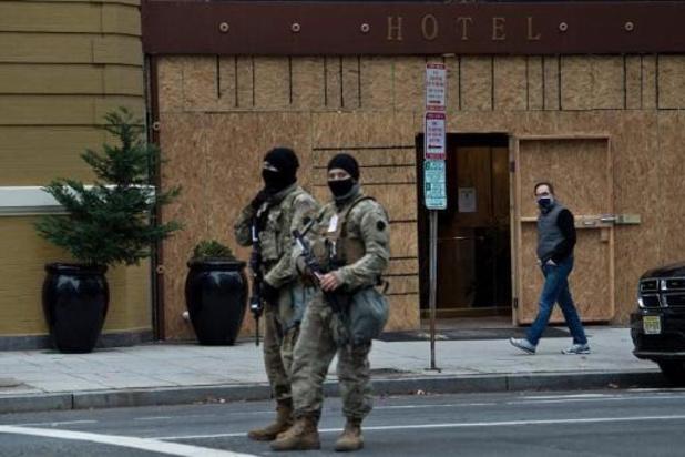 Transitie Biden - Tot 25.000 leden van National Guard voor beveiliging eedaflegging